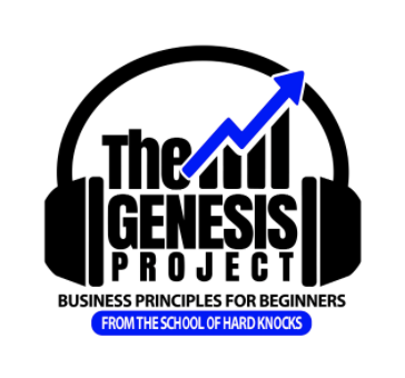 The Genesis Project Podcast featuring Author Speaker Investor Money Madu Logo